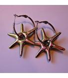 Skinnende Stjerneøreringe