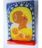 Maria og barn ikon
