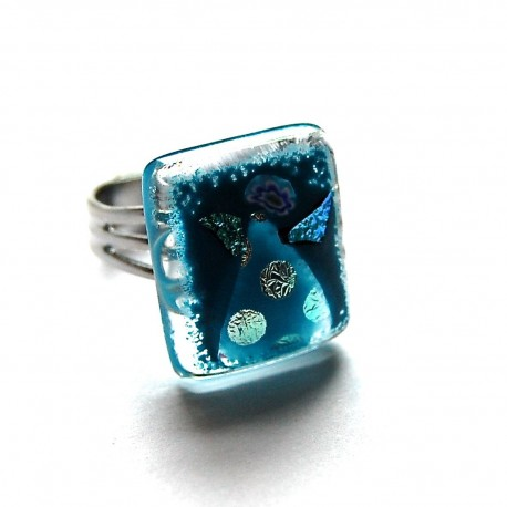 Blå ring