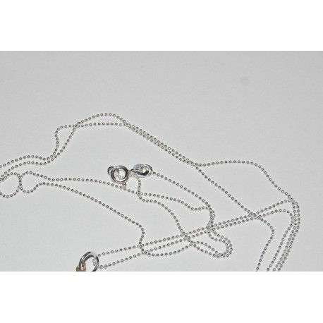 Kuglekæde sølv