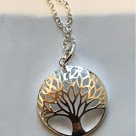 Livets træ i sølv